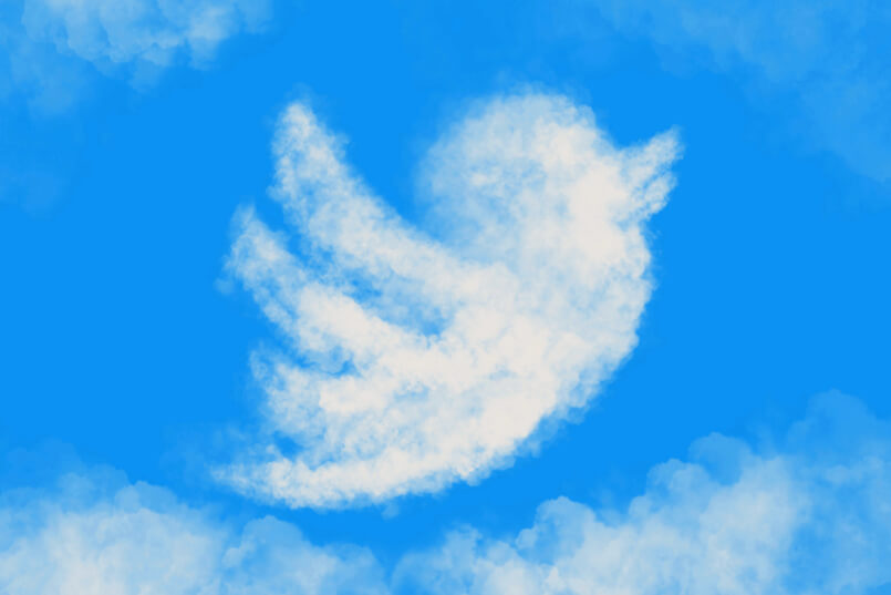 Twitter bird , twitter, twitter icon, flying in the sky, bird cloud , sky